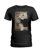 Panda poster Ladies T-Shirt thumbnail