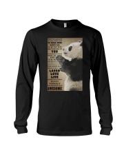 Panda poster Long Sleeve Tee thumbnail
