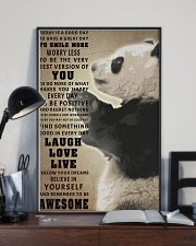 Panda poster 11x17 Poster lifestyle-poster-2