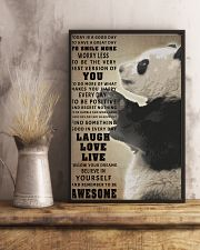 Panda poster 11x17 Poster lifestyle-poster-3