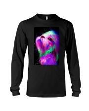 Shih Tzu Water Color Long Sleeve Tee thumbnail