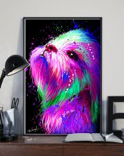 Shih Tzu Water Color 16x24 Poster lifestyle-poster-2