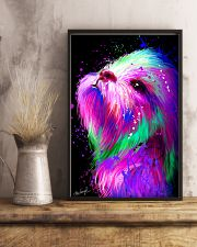 Shih Tzu Water Color 16x24 Poster lifestyle-poster-3