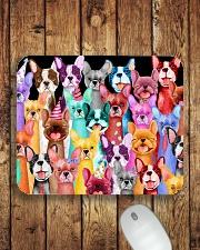 French bulldog Mousepad aos-mousepad-front-lifestyle-2