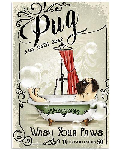 Pug Bath Soap