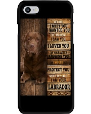 Labrador I loved You Phone Case thumbnail