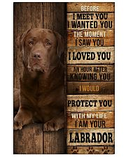 Labrador I loved You 24x36 Poster front