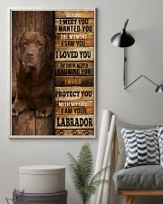 Labrador I loved You 24x36 Poster lifestyle-poster-1