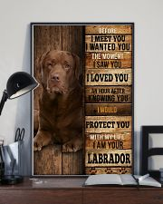 Labrador I loved You 24x36 Poster lifestyle-poster-2