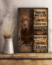 Labrador I loved You 24x36 Poster lifestyle-poster-3