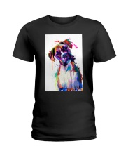 Boxer Poster Great Art V1 Ladies T-Shirt thumbnail
