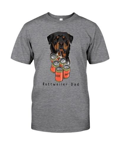 Rottweiler beer dad