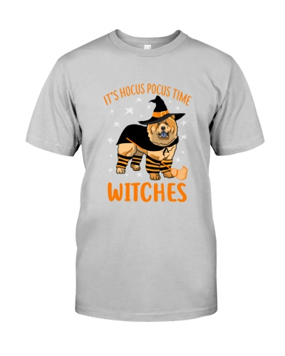 Chow Chow Witches Tshirt