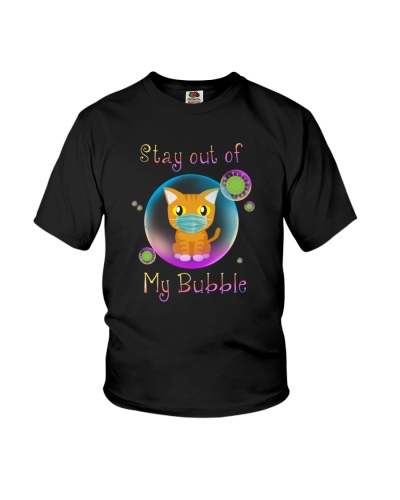 Cat Stay out of my Bubble