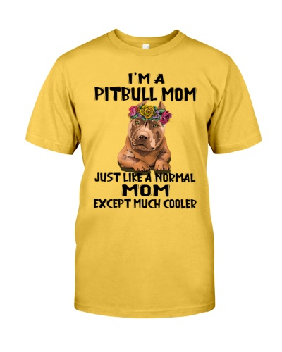 Pitbull Just like a normal mom