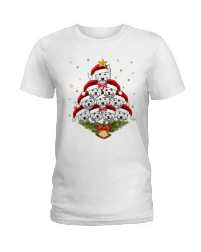 Westie Merry Christmas