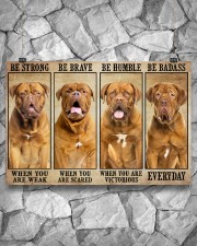 Dogue be strong 36x24 Poster aos-poster-landscape-36x24-lifestyle-12