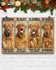 Dogue be strong 36x24 Poster aos-poster-landscape-36x24-lifestyle-25