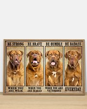 Dogue be strong 36x24 Poster poster-landscape-36x24-lifestyle-03