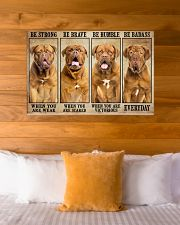Dogue be strong 36x24 Poster poster-landscape-36x24-lifestyle-23