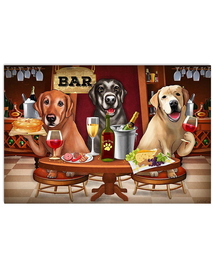 Labrador Wine 24x16 Poster