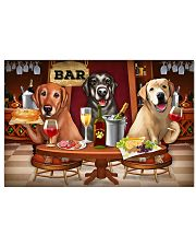 Labrador Wine 24x16 Poster front