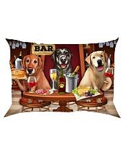 Labrador Wine Rectangular Pillowcase thumbnail