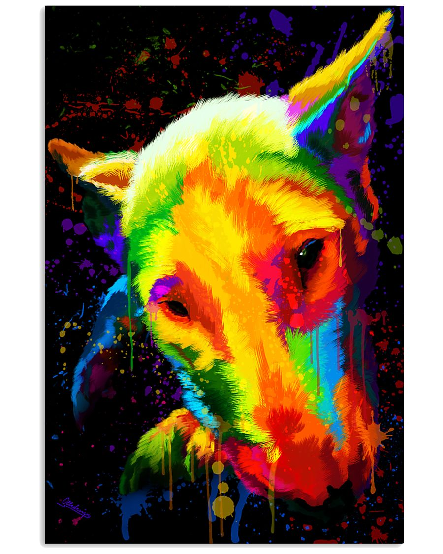 Bull Terrier color 11x17 Poster