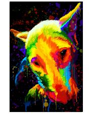 Bull Terrier color 11x17 Poster front