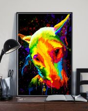 Bull Terrier color 11x17 Poster lifestyle-poster-2