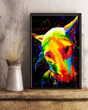 Bull Terrier color 11x17 Poster lifestyle-poster-3
