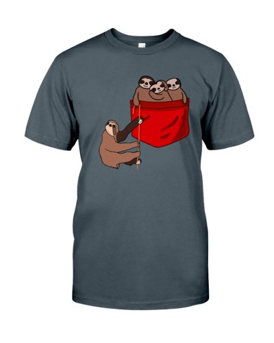 Sloth funny red