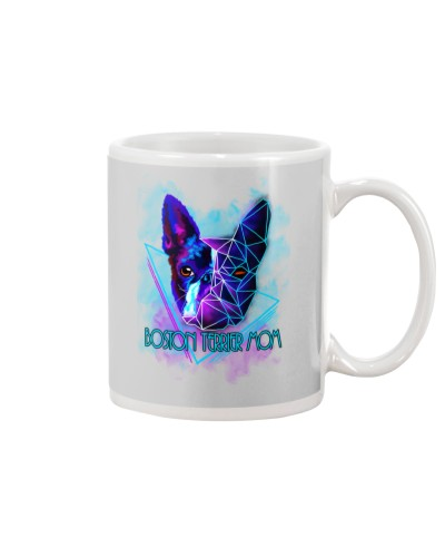 Stony Boston terrier Mom