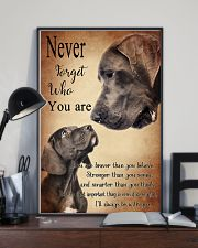 GREAT DANE NEVER 11x17 Poster lifestyle-poster-2