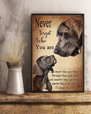 GREAT DANE NEVER 11x17 Poster lifestyle-poster-3