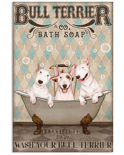 Bull terrier bath soap