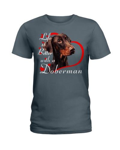 Doberman Life Is Better