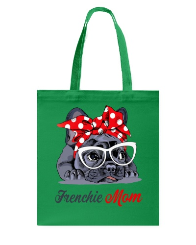 FUNNY FRENCHIE MOM BAG