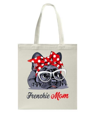 FUNNY FRENCHIE MOM BAG