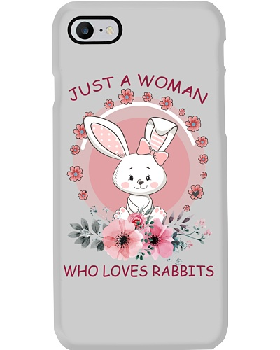 Just A Woman Who Loves Rabbits