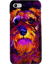SCHNAUZER POSTER COLORFUL Phone Case thumbnail