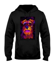 SCHNAUZER POSTER COLORFUL Hooded Sweatshirt thumbnail