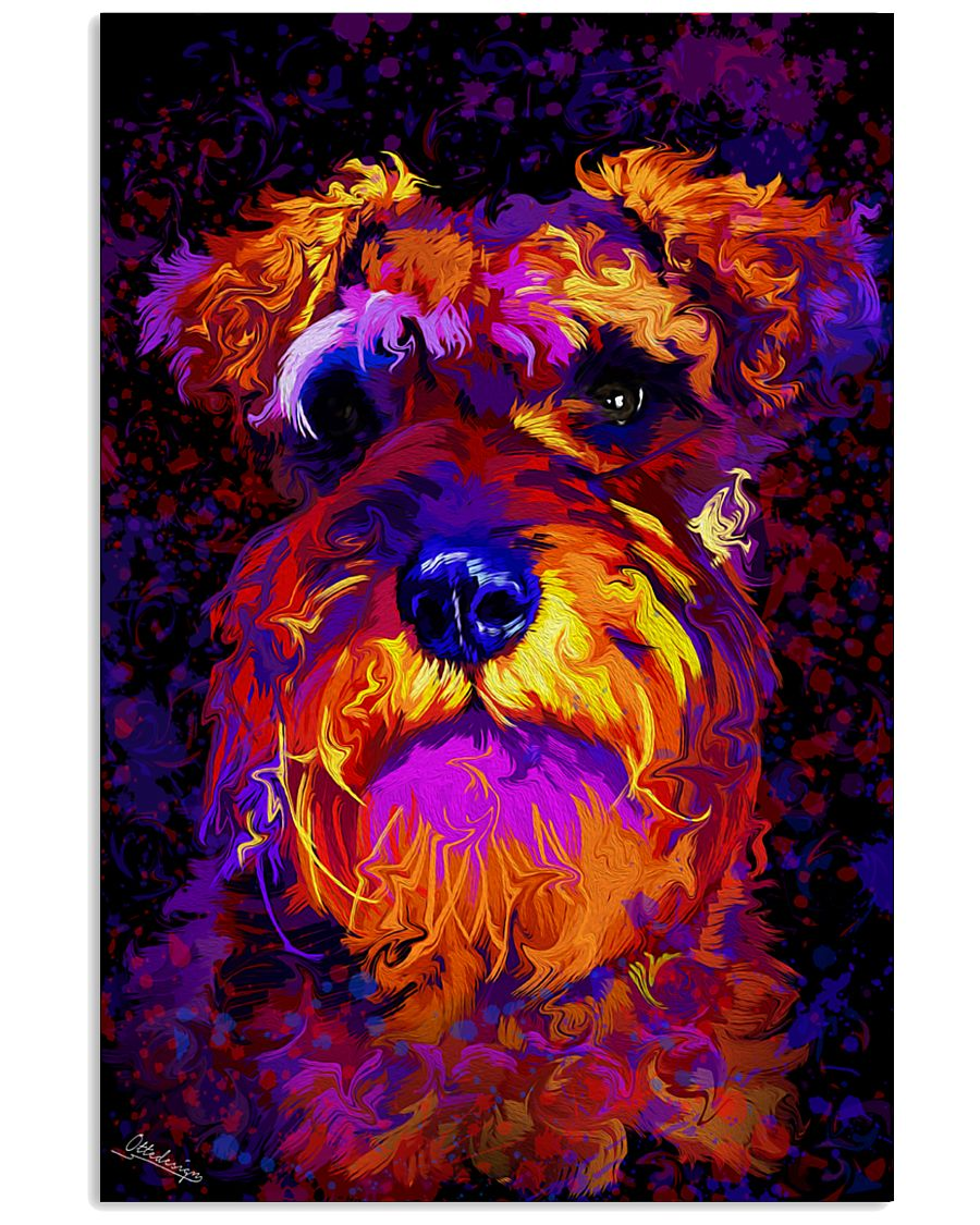 SCHNAUZER POSTER COLORFUL 24x36 Poster