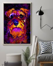 SCHNAUZER POSTER COLORFUL 24x36 Poster lifestyle-poster-1