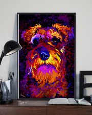 SCHNAUZER POSTER COLORFUL 24x36 Poster lifestyle-poster-2