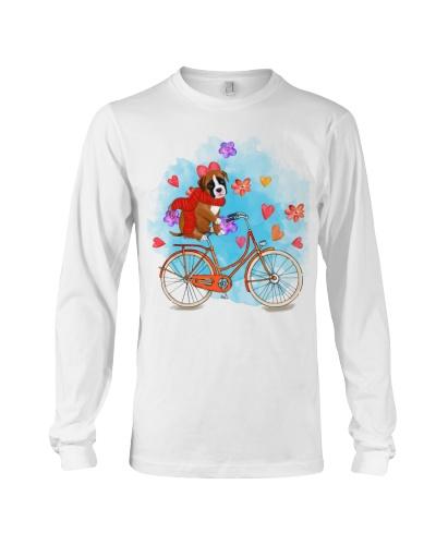 Boxer dog bicycle