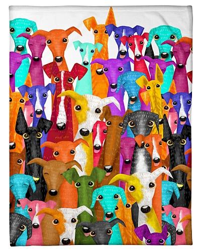 greyhound panting
