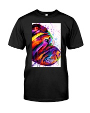 Shar Pei Water Color Classic T-Shirt thumbnail