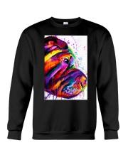 Shar Pei Water Color Crewneck Sweatshirt thumbnail