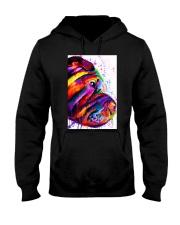 Shar Pei Water Color Hooded Sweatshirt thumbnail